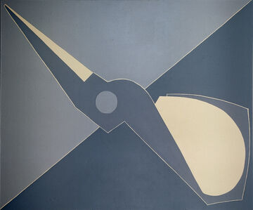 Mao Xuhui 毛旭辉, 'Outline, Half Scissors, Diagonal', 2008