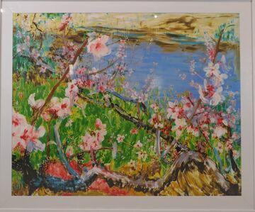 Zhou Chunya 周春芽, 'Peach Blossom in Jiangnan', 2015