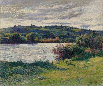 Maximilien Luce, 'La Seine aux Grésillons', 1894