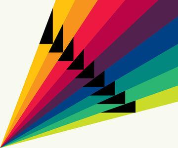 Gary Andrew Clarke, 'Chromatic Stripes #1'