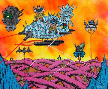 Motohiro Hayakawa, 'Space Battles Series 1 - #4', 2010-2016