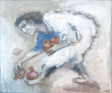 Anwar Abdoullaev, 'Pomegranates', 2020