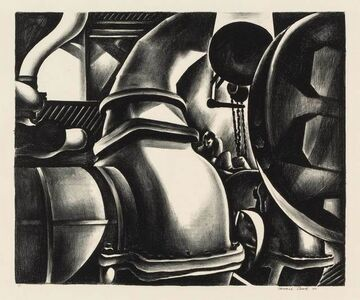 Howard Cook, 'Engine Room (D. 128)', 1930