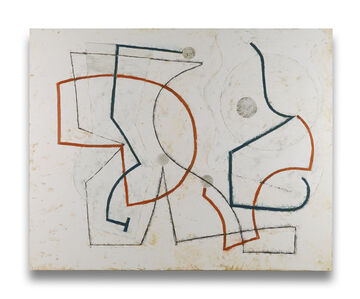 Jeremy Annear, 'Cascading Line (Polka) (Abstract painting)', 2013