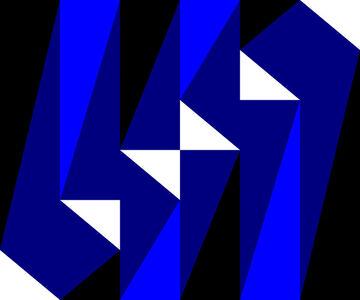 Gary Andrew Clarke, 'Blue Cascade'