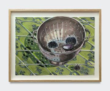 Nikki Maloof, 'Collander with Urchins', 2020