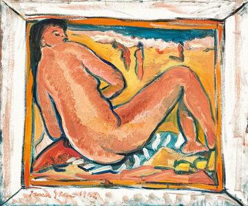Irma Stern, 'Figure on the Beach', 1962