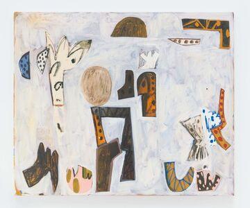 Tuukka Tammisaari, 'Preparatory Sketch for a Drawing', 2019
