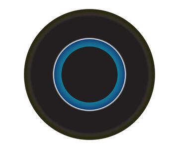 Ruth Adler, 'Black and Blue Circle', 2020