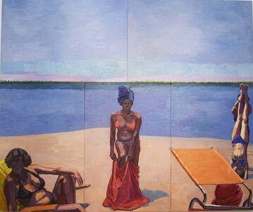 Graham Nickson, 'Pelican Bay Bathers', 2006