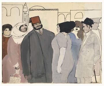 David Schneuer, 'Red Phez ', 1973