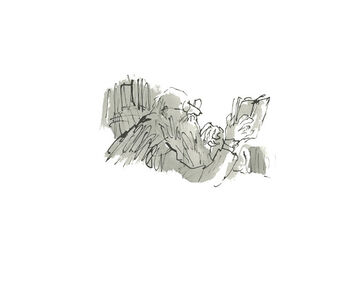 Quentin Blake, 'Constant Readers #36', 2019