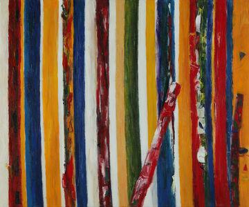 Heidi Oberheide, 'Leaning Red Form', 2020