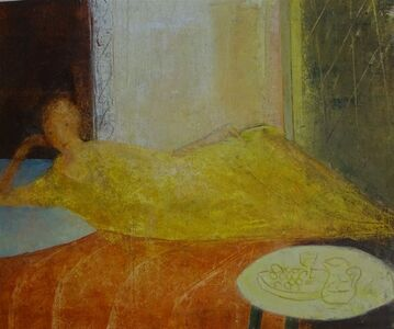 David Brayne, 'Yellow Dress', 2019