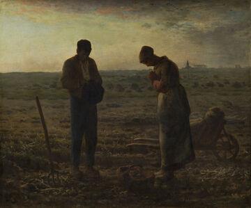 Jean-François Millet, 'The Angelus', 1857