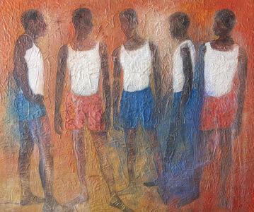 Uchay Joel Chima, 'Blokes III', 2020