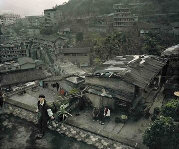 Chen Jiagang, 'Old Town Story (Fengjie) (Smog Series)', 2009