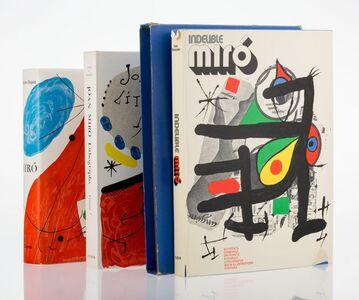 Jacques Dupin, 'Three Catalog Raisonne for Joan Miro', circa 1972