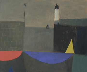 Nicholas Turner, 'Yellow Sail and Lighthouse'