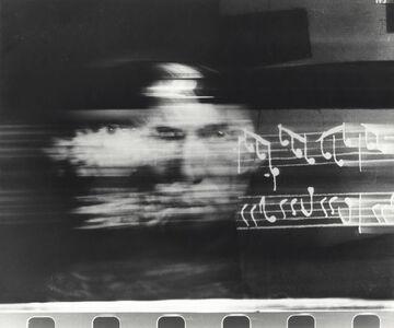 Paolo Gioli, 'Volto dalle note ', 1995