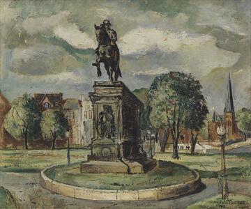 John Farrar, 'Untitled (Washington Circle).', 1947