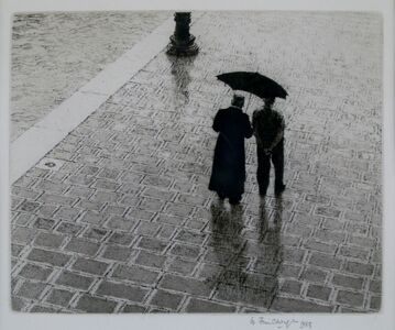 Wilfred Fairclough, 'Conversation Zattere, Venice', 1983