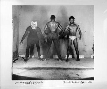 Ambroise Ngaimoko, 'Les catcheurs de Kintambo.', 1975
