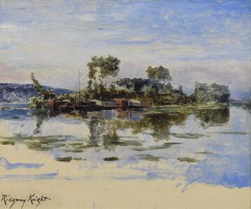 Daniel Ridgway Knight, 'The Island', 19th century