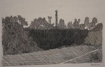 View of Montagnola, Bologna | Veduta della montagnola di Bologna