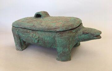 Lidded Sculptural Form