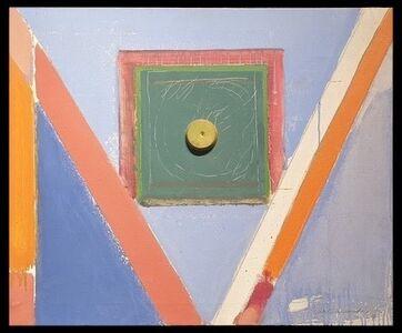 Albert Ràfols-Casamada, 'cuadrado y rallas  ', 1967