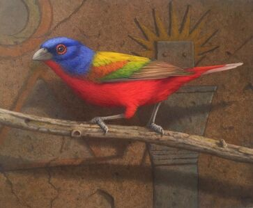 Tom Palmore, 'Painted Bunting', 2016