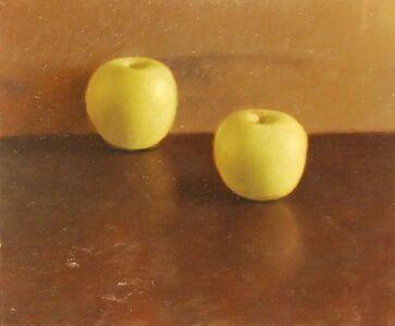 Aram Gershuni, 'Still Life (2 Green Apples)', 2012
