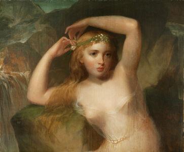 Thomas Sully, 'A Sea Nymph', 1839-1842