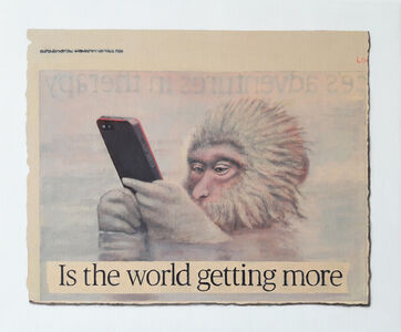 Hugh Mendes, 'Is the world getting more...', 2018