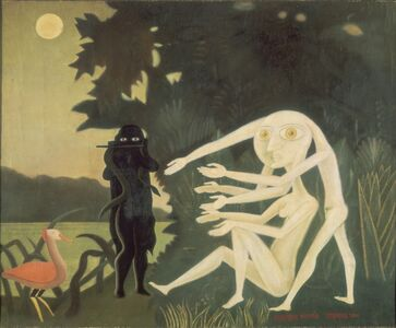 Victor Brauner, 'The Encounter of 2 bis rue Perrel', 1946