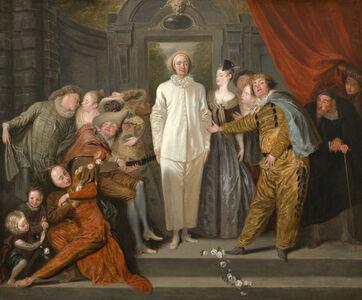 Jean-Antoine Watteau, 'The Italian Comedians', probably 1720