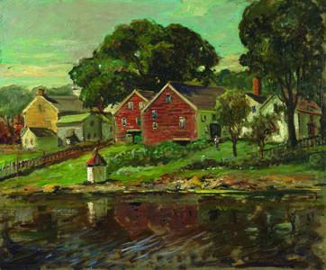 Abbott Fuller Graves, 'Kennebunkport, Maine', ca. 1895