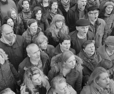 Hrvoje Slovenc, 'Church Choir #3', 2014