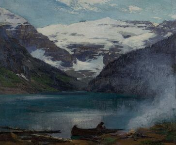 Edward Henry Potthast, 'In the Canadian Rockies', 1900-1910
