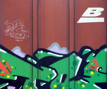 Tim Conlon, 'Blank Canvas #88 - BNSF', 2019