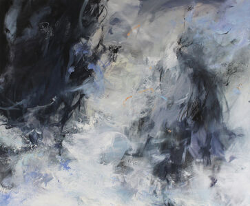 Janette Kerr, 'Sea Storm - Stack of Breiness', 2018