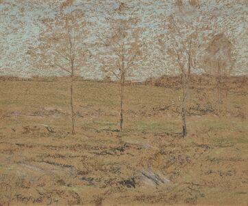 Dwight Tryon, 'Spring Pasture', 1899