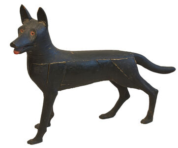Anonymous, 'Carved Figure of a Dog', ca. 1920