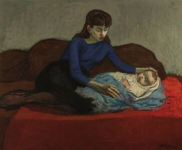 Moses Soyer, 'Mother and Child', 1899-1974