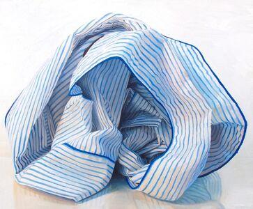 Ray Kleinlein, 'Blue and White Stripes', 2019