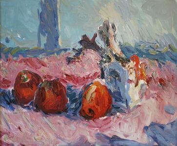 Roland Ladwig, 'Stillleben mit Äpfeln (Still-life painting with apples)', 1991