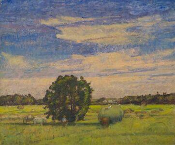 Theodore Wendel, 'The Hay Wagon, Ipswich', ca. 1912