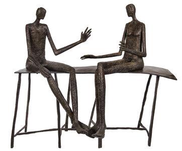 Val, 'Conversation au parc II', 2010