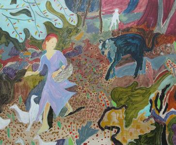 Eleanor Moreton, 'The Ragged Girl's Journey (Goose Girls)', 2018